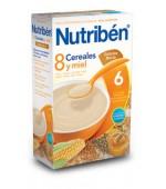 NUTRIBEN 8 CEREALES Y MIEL GALLETAS MARIA 600GR