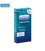 Durex Preservativos Natural Plus Easy On x6