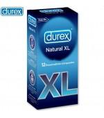 Preservativo Durex Natural XL 12u