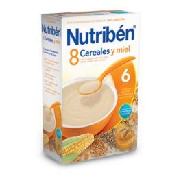 Nutribén 8 Cereales y Miel 600gr